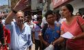 Verónika Mendoza y Alfredo Barnechea confían en seguir creciendo en preferencias electorales