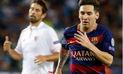 Barcelona, con genial nivel de Lionel Messi,  ganó 2-1 a Sevilla en Liga BBVA | VIDEO