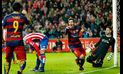 Barcelona venció 3-1 a Sporting Gijón y se consolida en liderato de Liga BBVA| VIDEO
