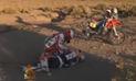 Conmovedor video de YouTube muestra a piloto que ayuda a su colega en Dakar 2016