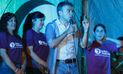 Julio Guzmán: Regalaron colchones en su último mitin en Arequipa | VIDEO