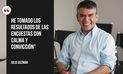 Julio Guzmán y las mejores frases de su más reciente entrevista | FOTOS