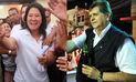 Arrojan aceite quemado a locales de campaña de Keiko Fujimori y Alan García | VIDEO