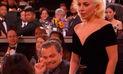 Leonardo DiCaprio y su particular reacción con Lady Gaga en Globos de Oro   VIDEO