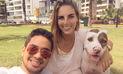 Combate: Manuela Garrido Lecca no deja de ejercitarse pese a estar embarazada   VIDEO