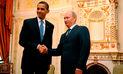 Obama exige que Vladimir Putin cese bombardeos a opositores en Siria