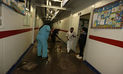 Se inundan tres áreas de hospital de Contingencia de Cusco