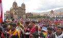 Peregrinos del Señor de Qoyllurit'i protestan por invasión de mineros ilegales