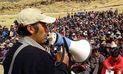 En Cotabambas dirigentes inician huelga esta semana por el proyecto Las Bambas