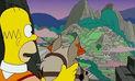 ¿Cuántas veces apareció el Perú en los capítulos de Los Simpsons?