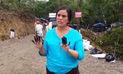 Verónika Mendoza llegó a Inayo y condenó derrame de petróleo que provocó Petroperú | VIDEO