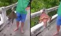 """YouTube: pescadores quedaron sorprendidos con extraño """"pez"""" en río de Tailandia   VIDEO"""