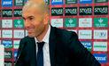 """Zinedine Zidane: """"¿Messi? Cristiano Ronaldo es el mejor del mundo"""""""