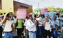 Personal del Chira-Piura inicia paro de 72 horas  por mejoras salariales