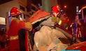 Surco: hombre muere en accidente mientras corría piques   VIDEO