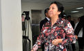 Juez aprueba pedido de comparecencia restringida para madre de Nadine Heredia