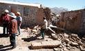 Arequipa: declaran en emergencia distritos afectados por el sismo