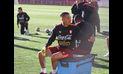 ¿Paolo Guerrero se queda sentado en el Perú vs. Bolivia?