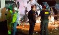 10 muertos deja triple choque en la Panamericana Norte