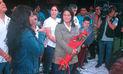 Keiko Fujimori celebra su cumpleaños con mitin en San Martín de Porres