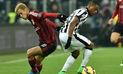 Juventus volteó el clásico de la Serie A y venció 2-1 al Milan en San Siro