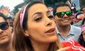 Ni una menos: Milett Figueroa se solidariza con las mujeres   VIDEO