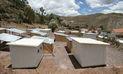 Sismo en Arequipa: módulos de vivienda son trasladados a Caylloma