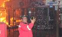 """Trujillo: Bombero se toma """"selfie"""" mientras centro comercial arde en llamas"""