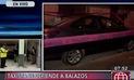 Taxista se defiende de delincuentes que se hacían pasar por pasajeros y mata a uno | VIDEO