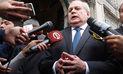 Pedro Cateriano insiste que hubo cuatro proveedores para comprar satélite