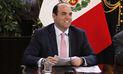 Primer ministro Fernando Zavala inaugurará este lunes el II Gore Ejecutivo