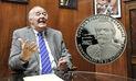 García Belaunde: Nueva moneda del BCR tendría una frase apócrifa  | VIDEO