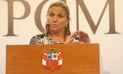 "Marisol Pérez Tello: ""Cada ministerio está revisando los cargos de confianza"""