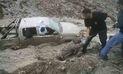 Tres muertos por devastador huaico en Arequipa |FOTOS y VIDEO