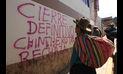 Cusco inicia huelga indefinida exigiendo el aeropuerto Chinchero