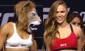 UFC 207: así fue el intenso careo entre Ronda Rousey y Amanda Nunes   VIDEO