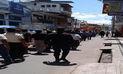 Continúan manifestaciones de maestros en San Martín