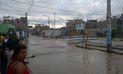 Ríos y huaicos inundan balnearios y la región sur de Lima   VIDEO