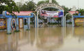 Tumbes: se registra lluvia torrencial que genera preocupación ante posible desborde de río
