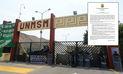 San Marcos rechaza reclamo de alumnos y advierte que se tomarán acciones legales