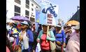 Trabajadores de sindicato de Sedapal marcharon en contra de la privatización
