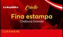 Fina estampa, canción de Chabuca Granda