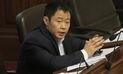 Kenji exhortó a la bancada de Fuerza Popular a apoyar proyecto de la reconstrucción