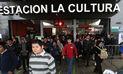 Metro de Lima: Estación La Cultura permanecerá cerrada este martes 12