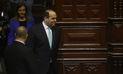 Con 77 votos en contra, Congreso niega confianza a gabinete Zavala y se declara la crisis total