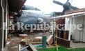 Vraem: Antonov de la Marina se estrelló en aeródromo de Mazamari [VIDEO]