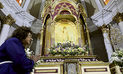 Virgen de la Nube, custodia del Señor de los Milagros