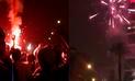 """Perú vs. Nueva Zelanda: hinchas reventaron fuegos artificiales frente al hotel de los """"All Whites""""[VIDEOS]"""