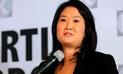 Keiko Fujimori registra un descenso en su aprobación