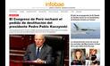 PPK: reacciones de la prensa internacional luego de la votación en el Congreso